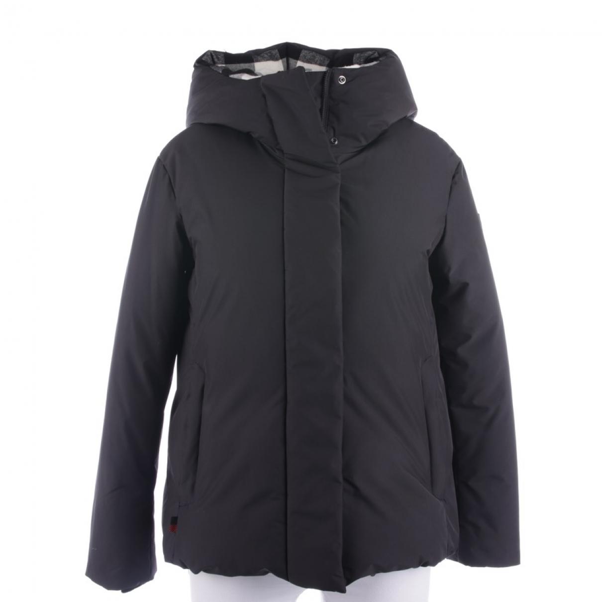 Woolrich \N Black coat for Women 34 FR