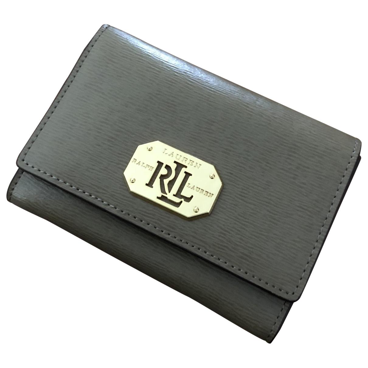 Lauren Ralph Lauren \N Portemonnaie in Leder