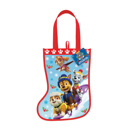 Paw Patrol Christmas Stocking Tote Bag, 13