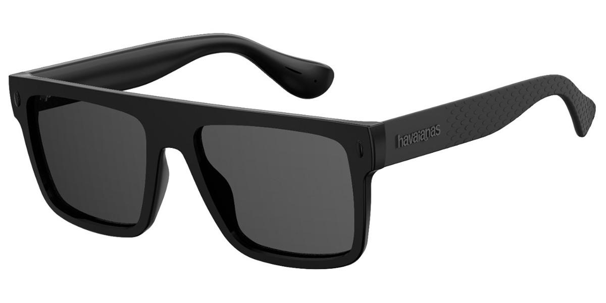 Havaianas MARAU QFU/IR Women's Sunglasses Black Size 56