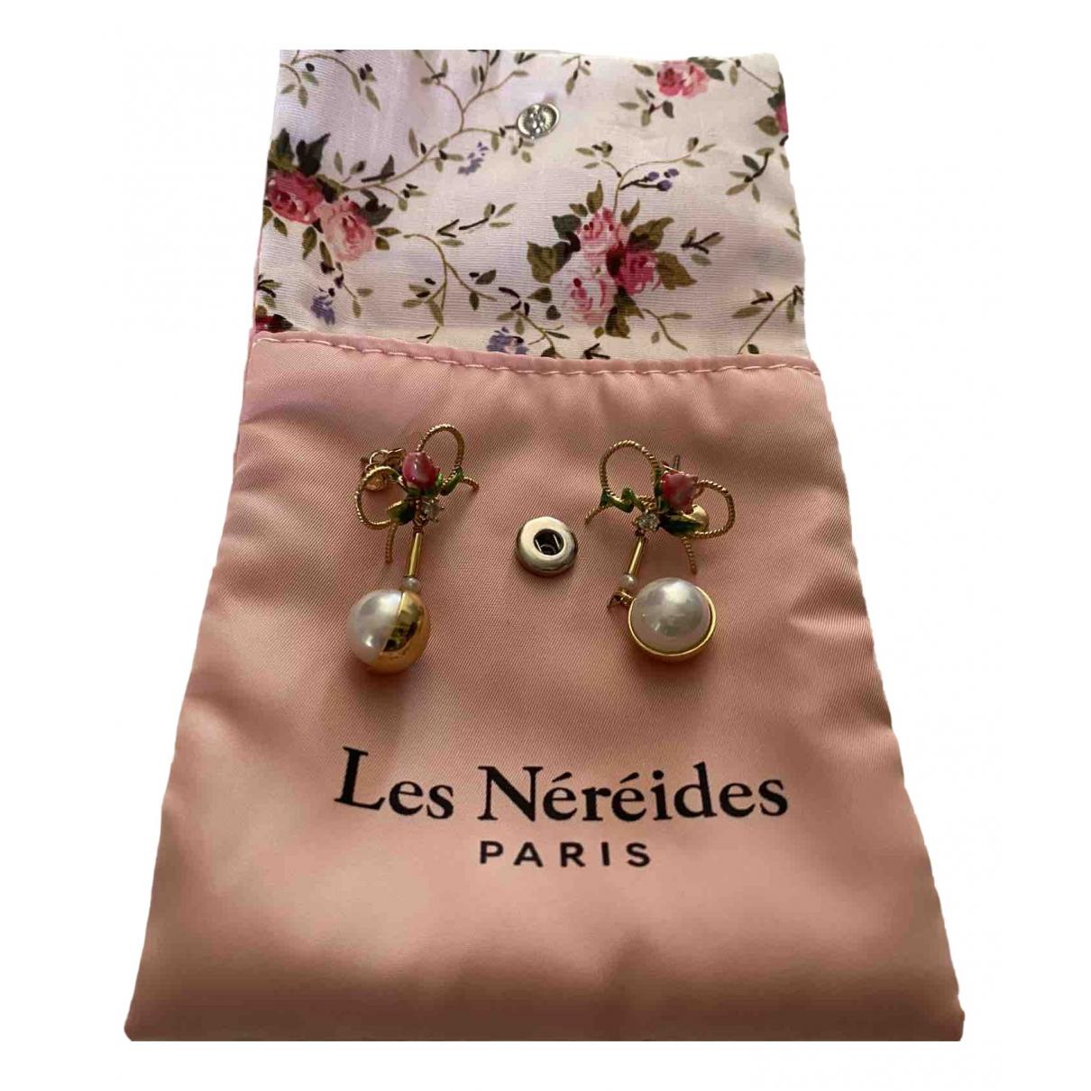 Les Nereides \N OhrRing in  Gelb Metall