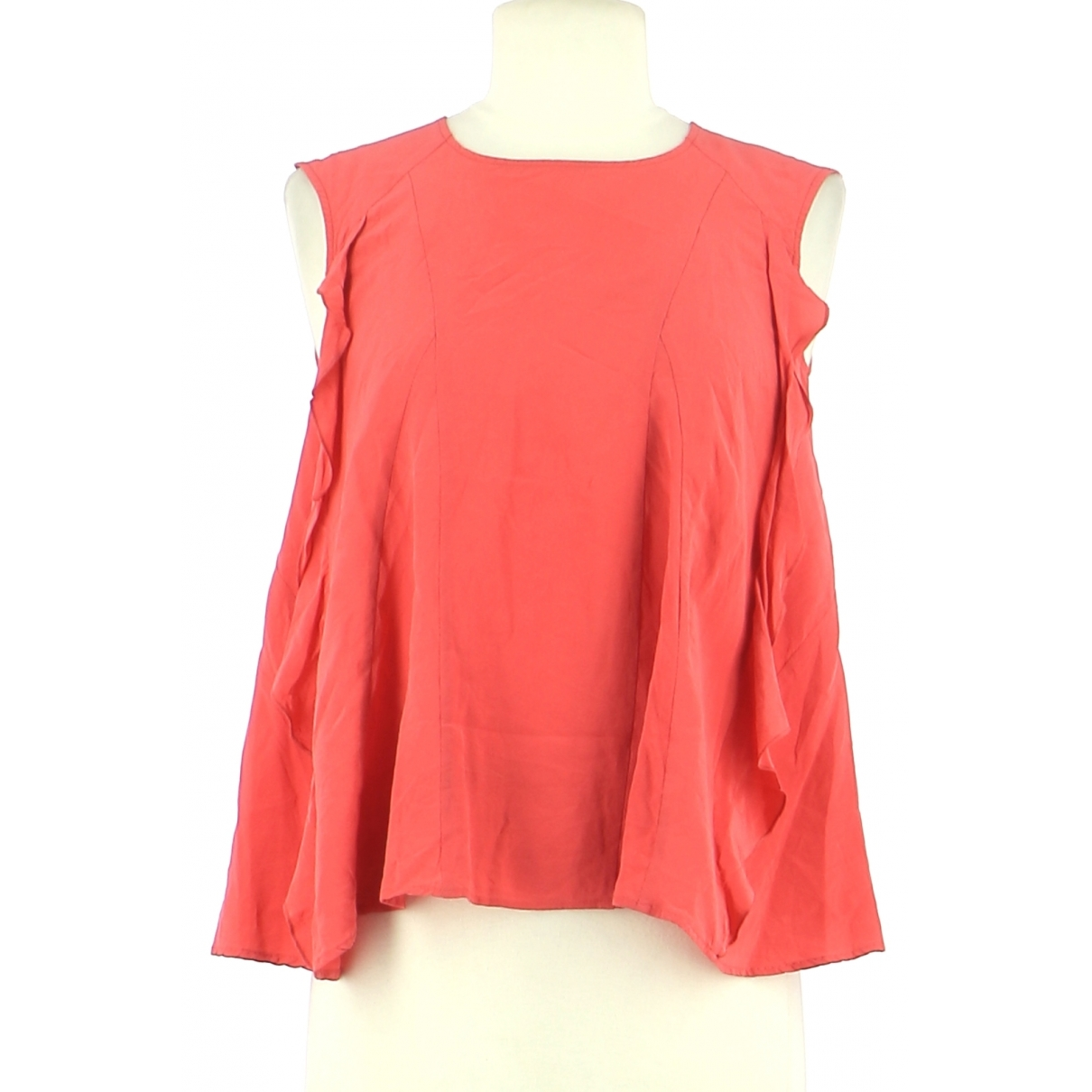 Pablo N Pink Silk  top for Women 34 FR