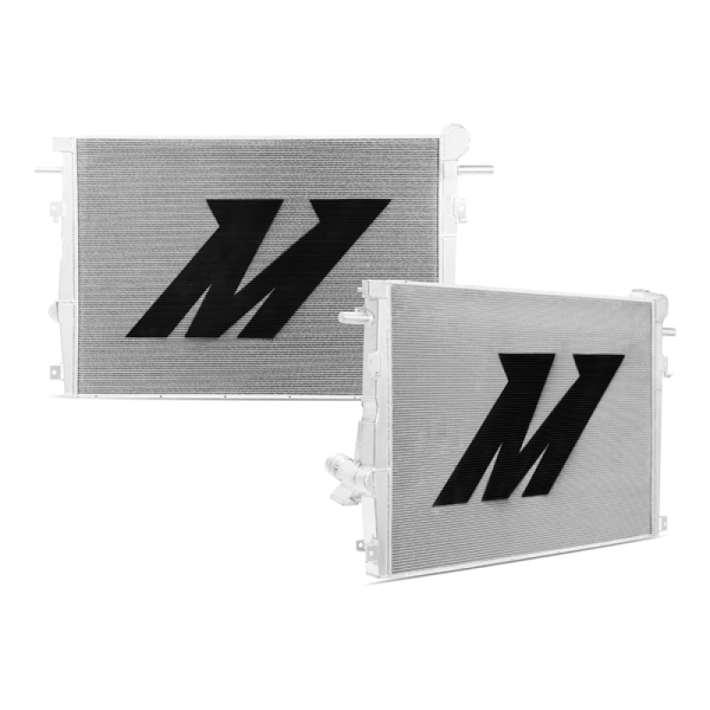 Mishimoto MMRAD-F2D-11V2 Powerstroke Aluminum Primary Radiator Ford 6.7L 2011-2016