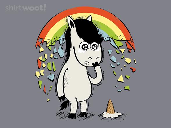 No Longer A Unicorn T Shirt