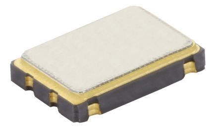 CTS , 32.76kHz Clock Oscillator, ±25ppm HCMOS, 4-Pin SMD TC25L5I32K7680 (1000)