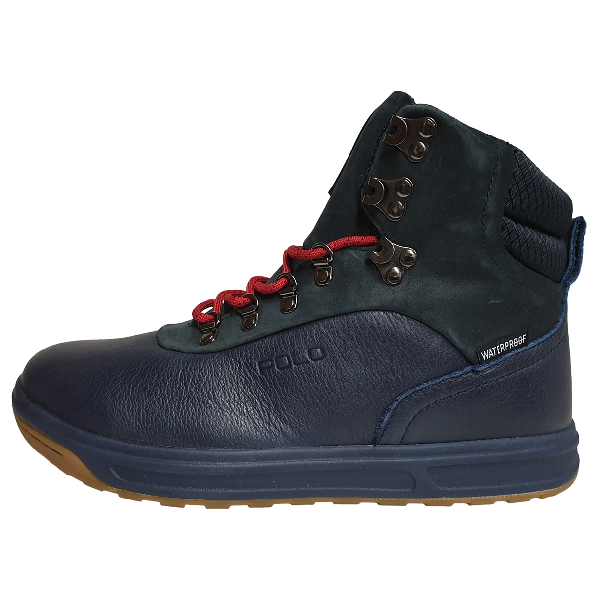 Polo Ralph Lauren \N Blue Leather Boots for Men 40 EU