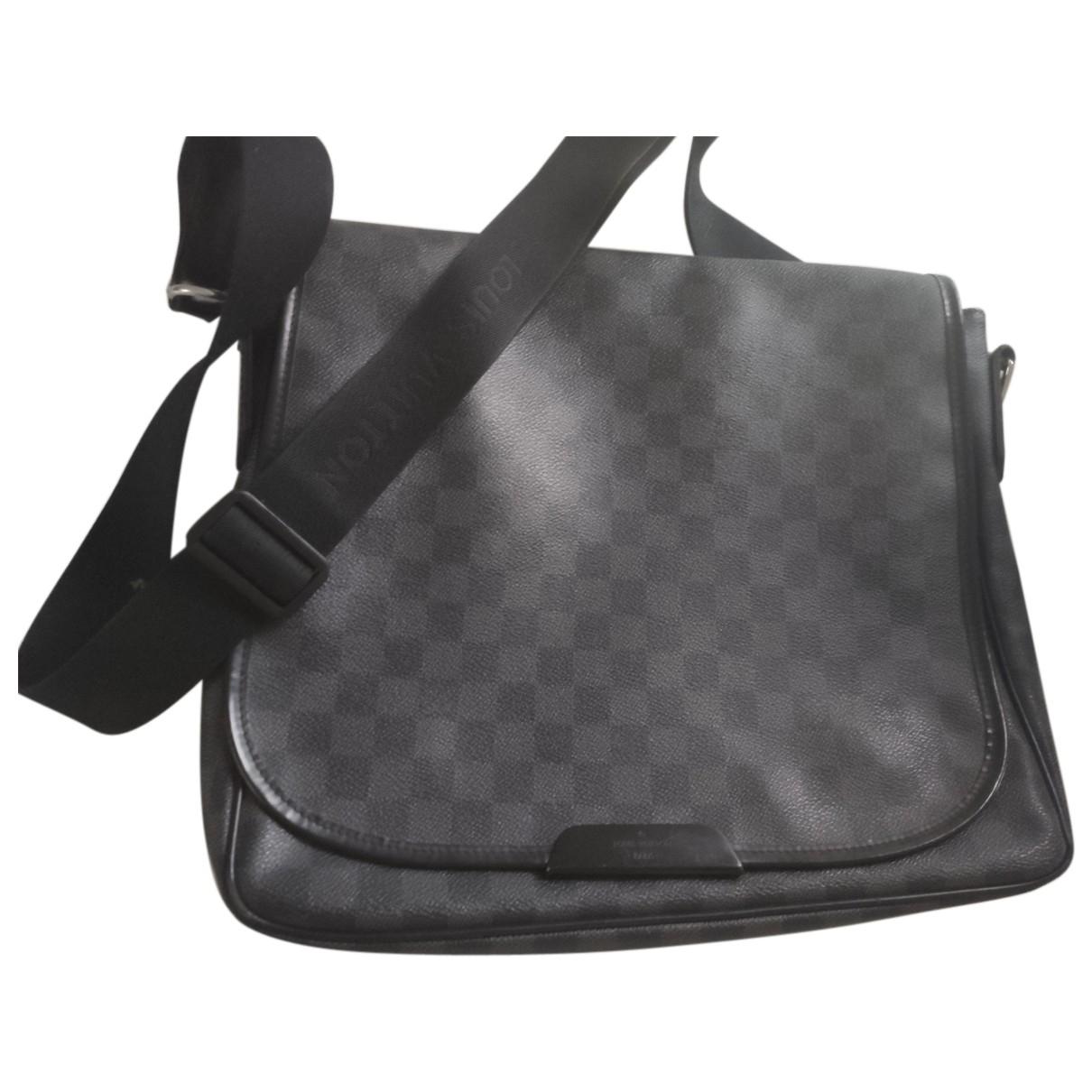 Louis Vuitton Bastille Grey Cloth bag for Men N
