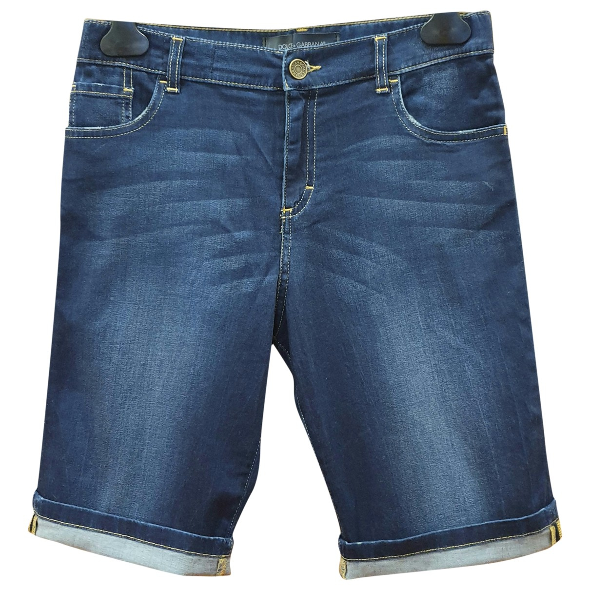 Dolce & Gabbana \N Blue Cotton Shorts for Kids 12 years - XS FR