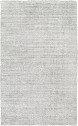 Templeton TPL-4000 9' x 13' Rectangle Modern Rugs in Medium Gray  Silver Gray  Black