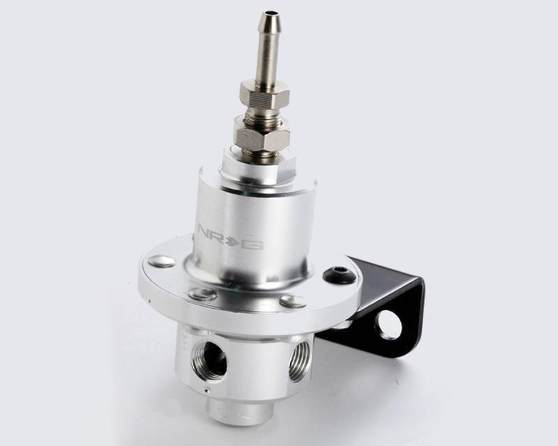 NRG FRG-100SL Silver Fuel Regulator Universal