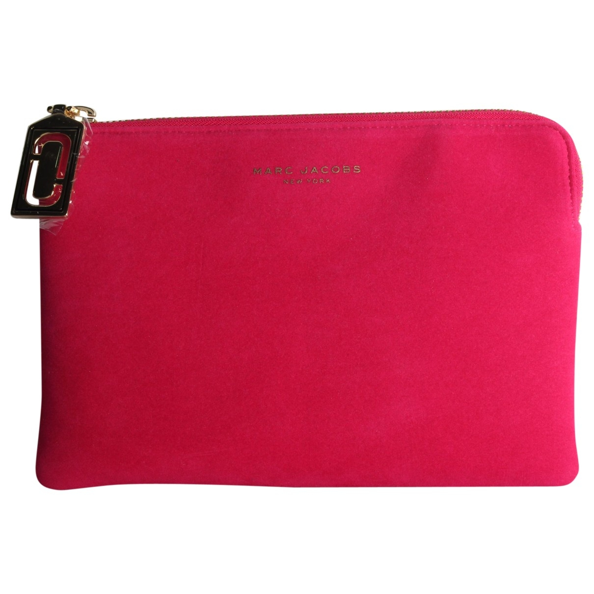 Marc Jacobs \N Pink Velvet Clutch bag for Women \N