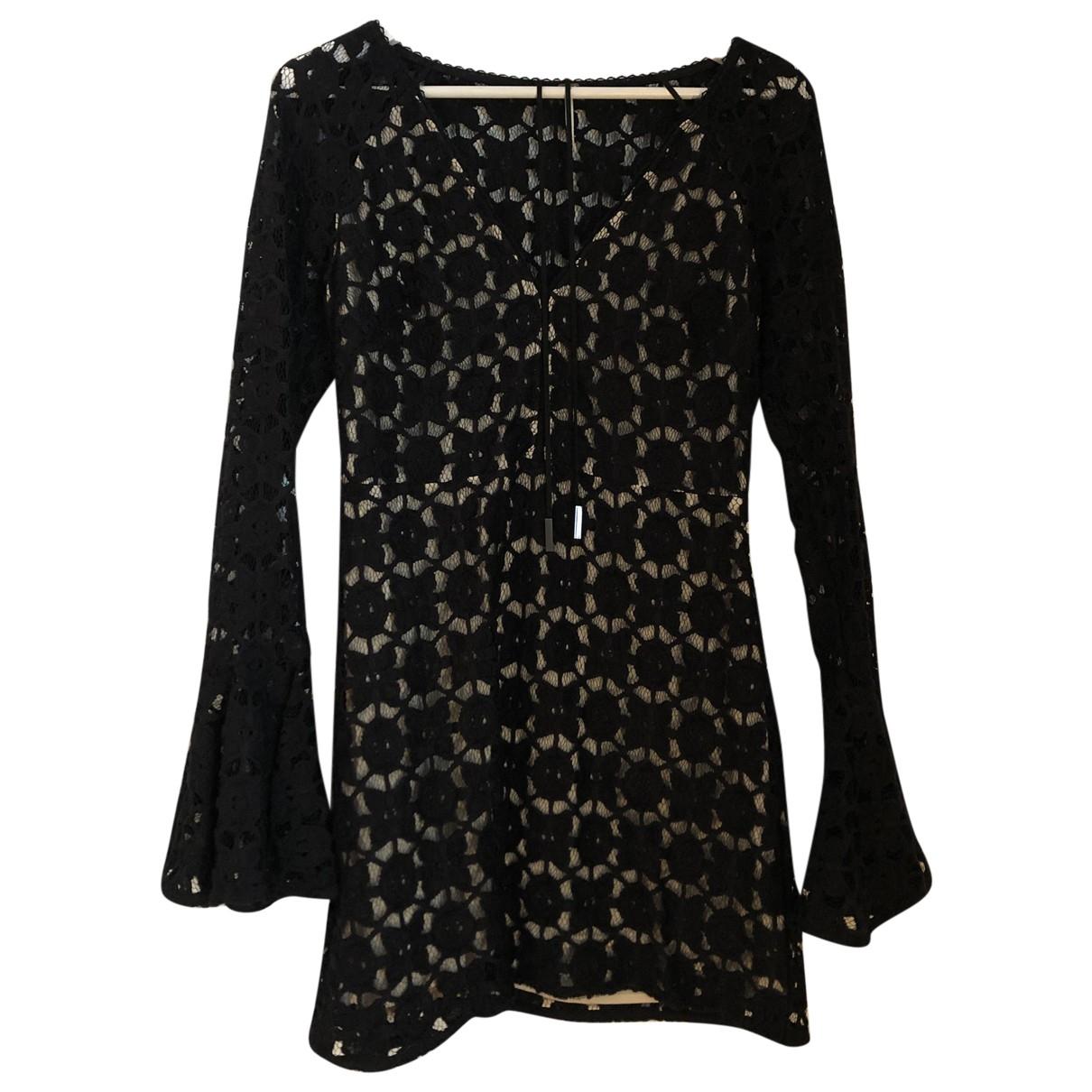 Free People \N Black Cotton dress for Women S International