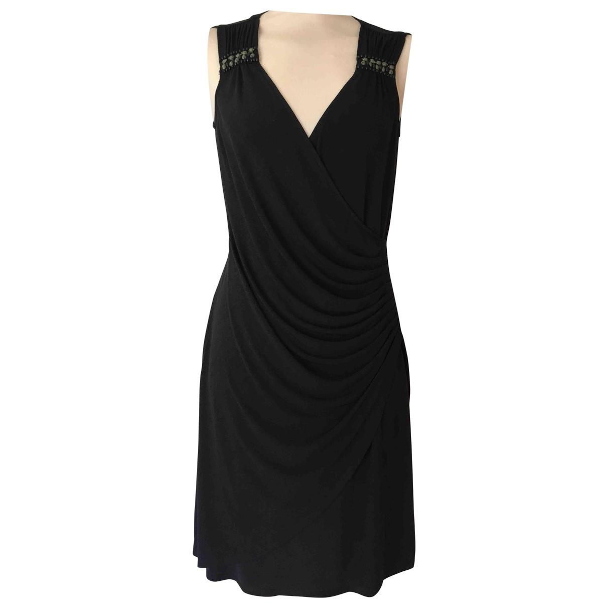 Hale Bob \N Kleid in  Schwarz Polyester