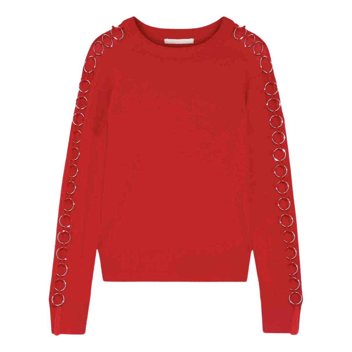 Jonathan Simkhai - Pull   pour femme en laine - rouge