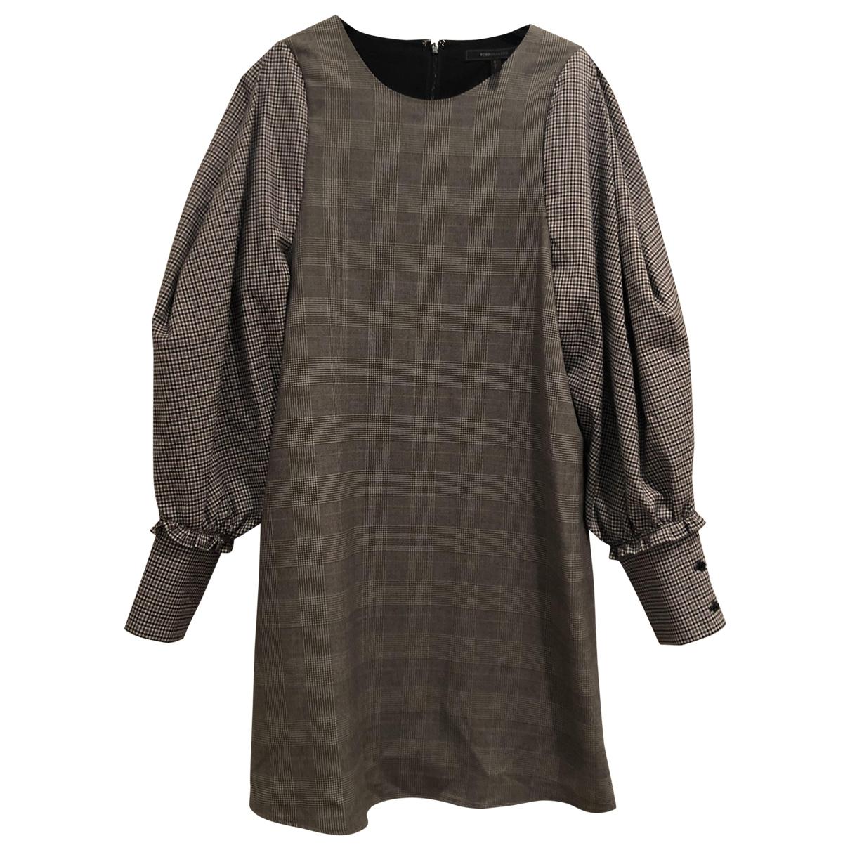 Bcbg Max Azria - Robe   pour femme - gris