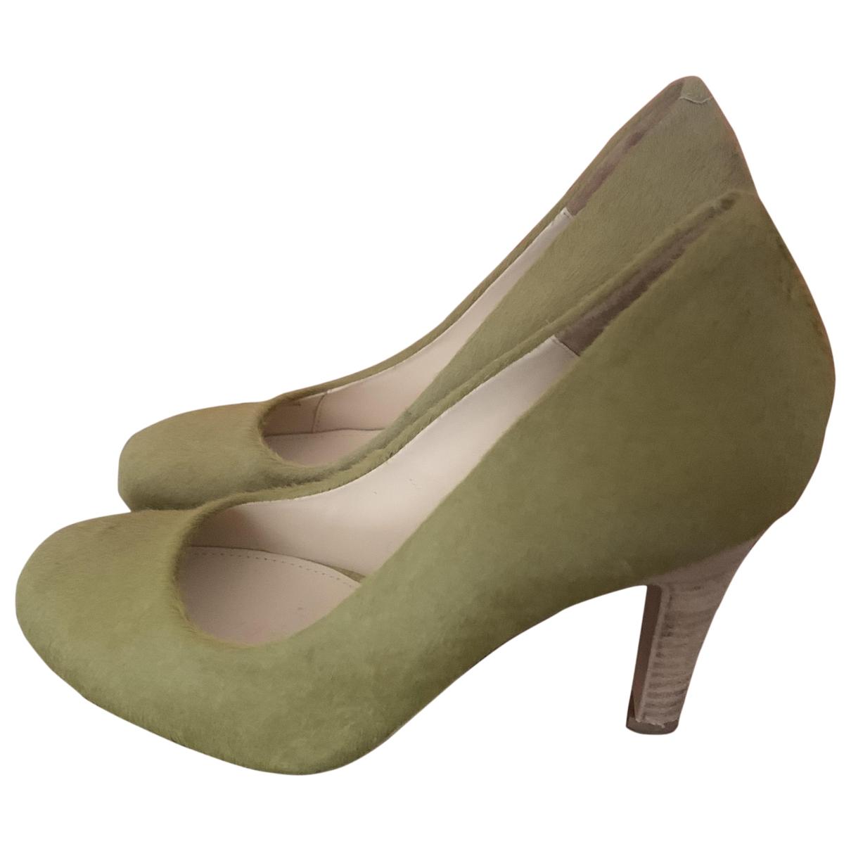 Bimba Y Lola - Escarpins   pour femme en veau facon poulain - vert