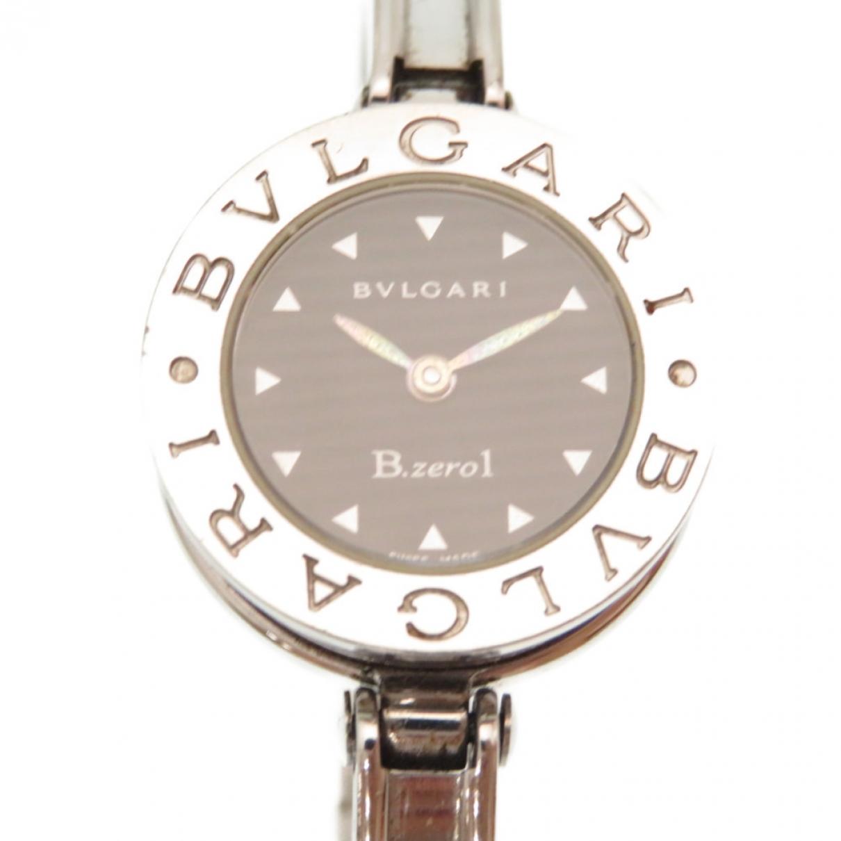 Bvlgari - Montre B.Zero1 pour femme en acier - argente