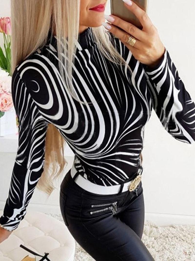 Ericdress Long Sleeve Standard Women's Casual T-Shirt
