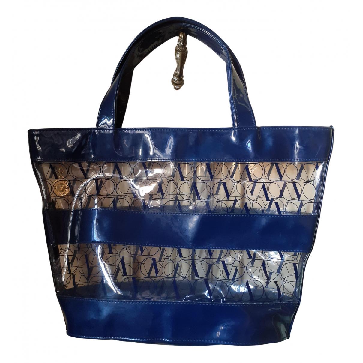 Valentino Garavani \N Handtasche in  Blau Kunststoff
