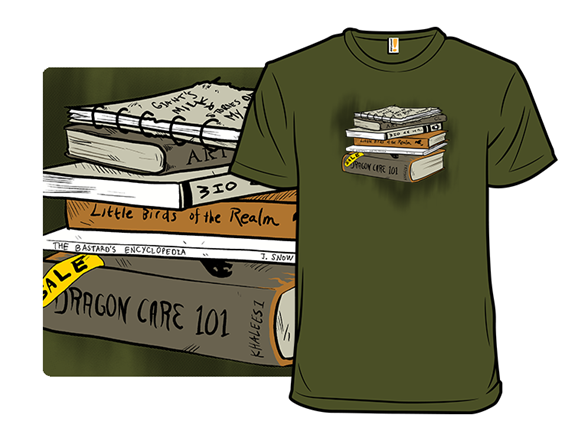 Throne Of Books T Shirt