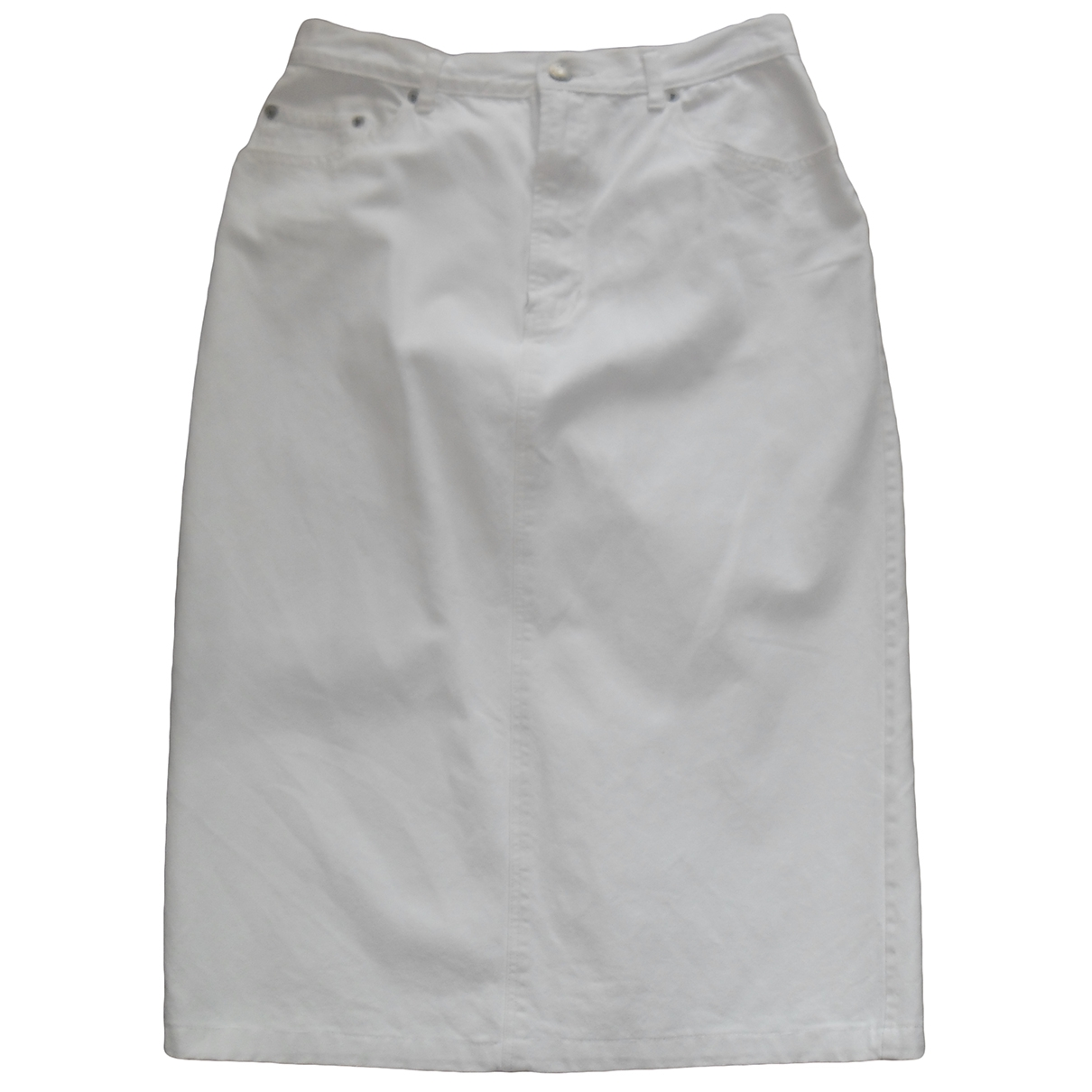Non Signe / Unsigned \N Rocke in  Ecru Denim - Jeans