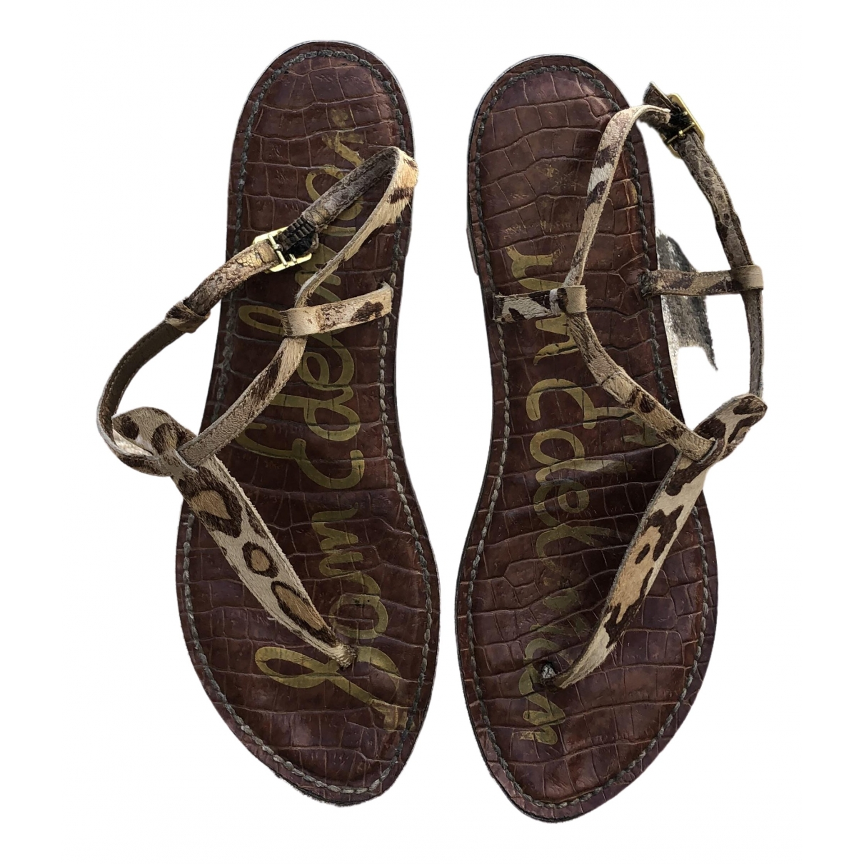 Sam Edelman \N Multicolour Leather Sandals for Women 40 EU