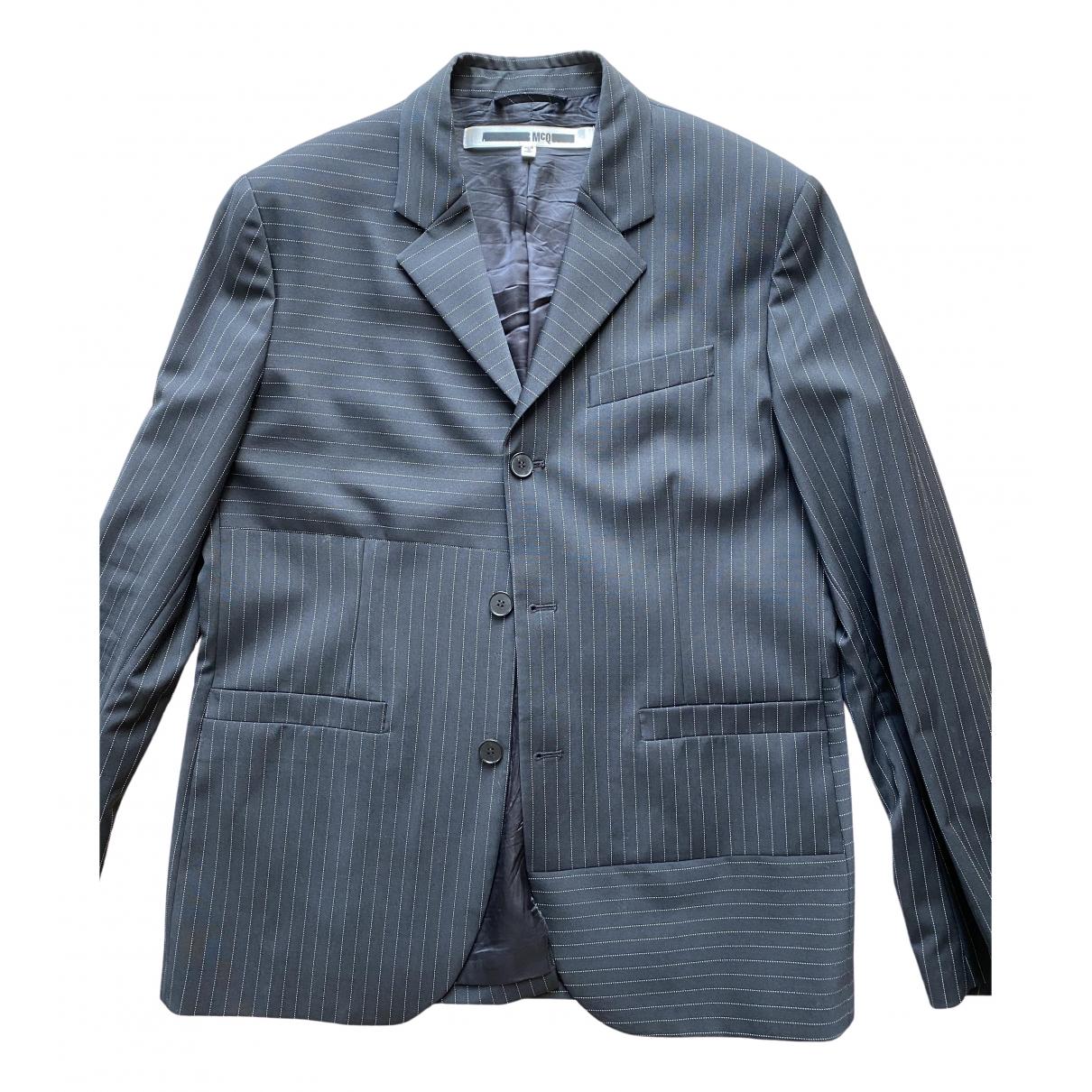 Mcq \N Black Wool jacket  for Men 48 IT
