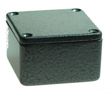 CAMDENBOSS 5000, Hammertone Die Cast Aluminium Enclosure, IP54, Shielded, 50 x 50 x 31mm