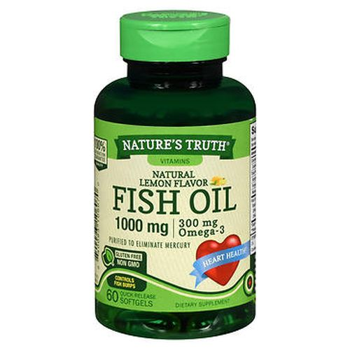 Fish Oil 60 Caps by Natures Truth