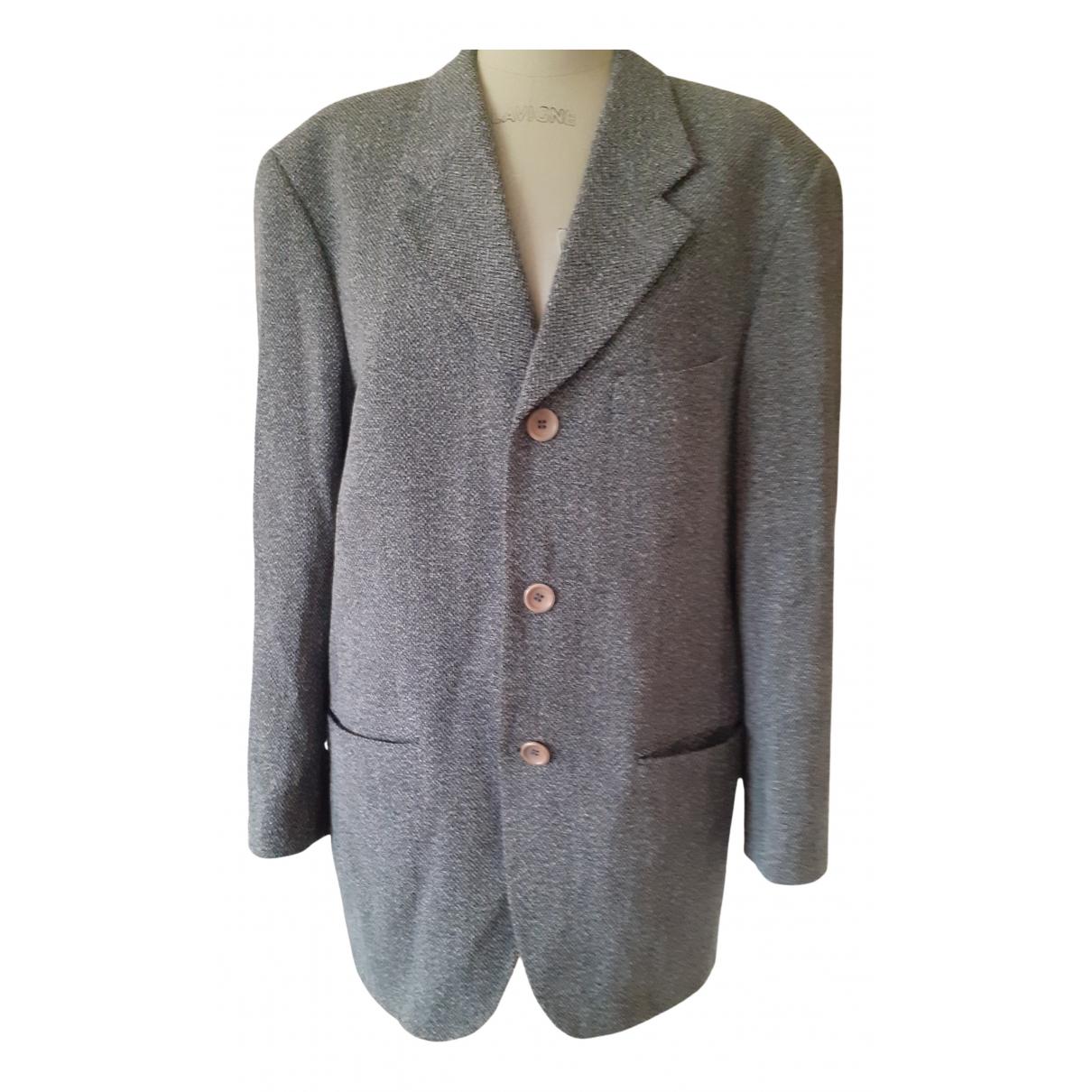 Kenzo - Vestes.Blousons   pour homme en laine - gris