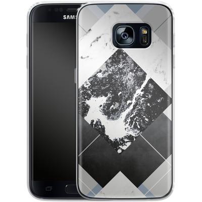 Samsung Galaxy S7 Silikon Handyhuelle - Geometric Textures 5 von Mareike Bohmer