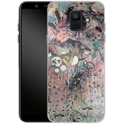 Samsung Galaxy A6 Silikon Handyhuelle - The Great Forage von Mat Miller