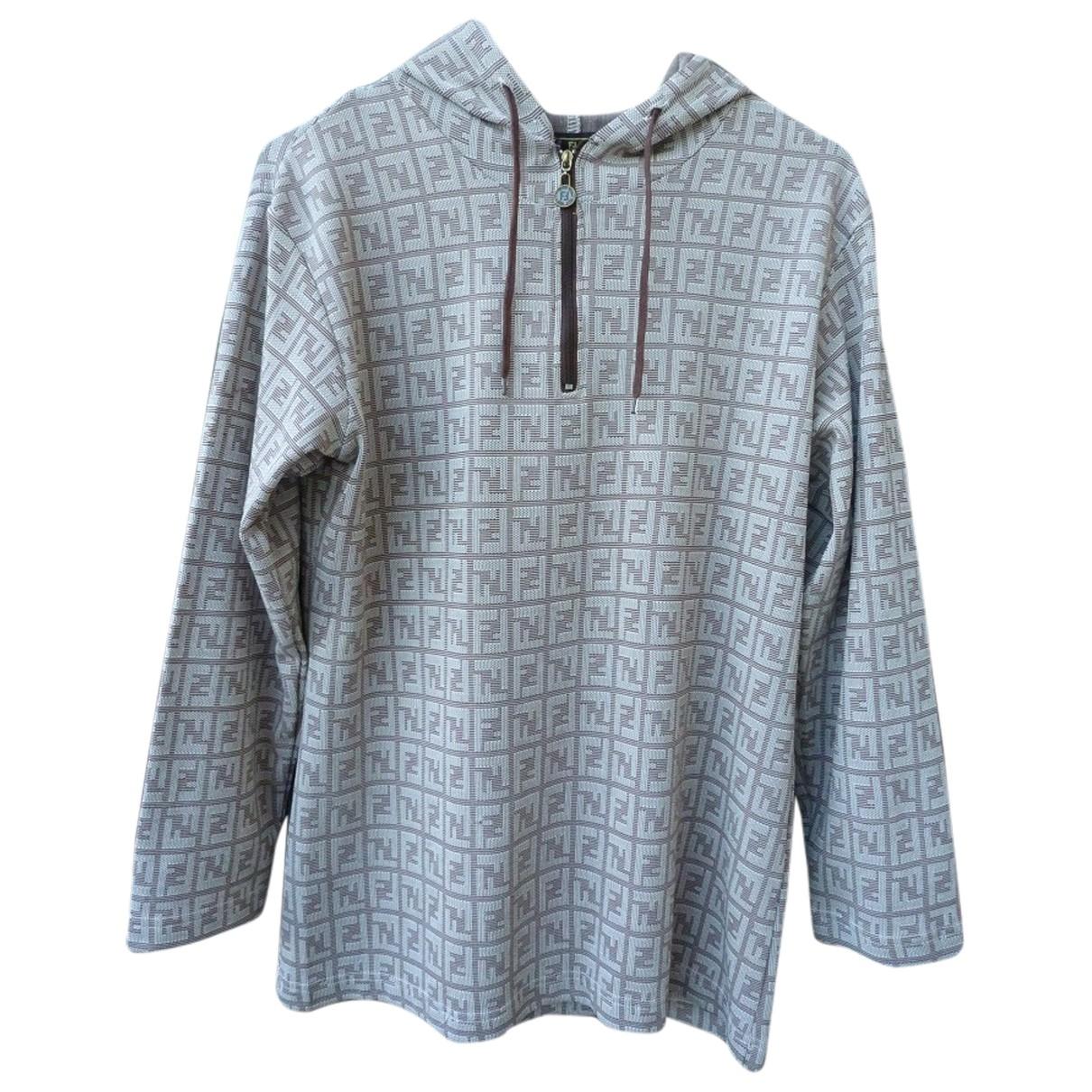 Fendi \N Pullover in  Braun Polyester