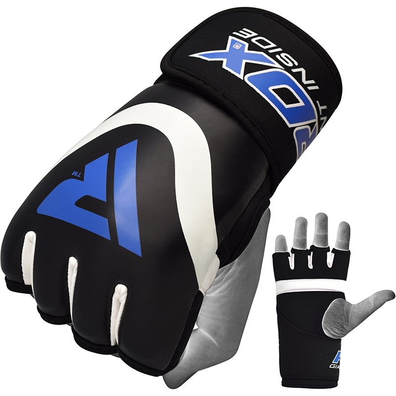 RDX X7 Inner Wrap Training Gloves Neoprene Extra Large Blue/White/Black