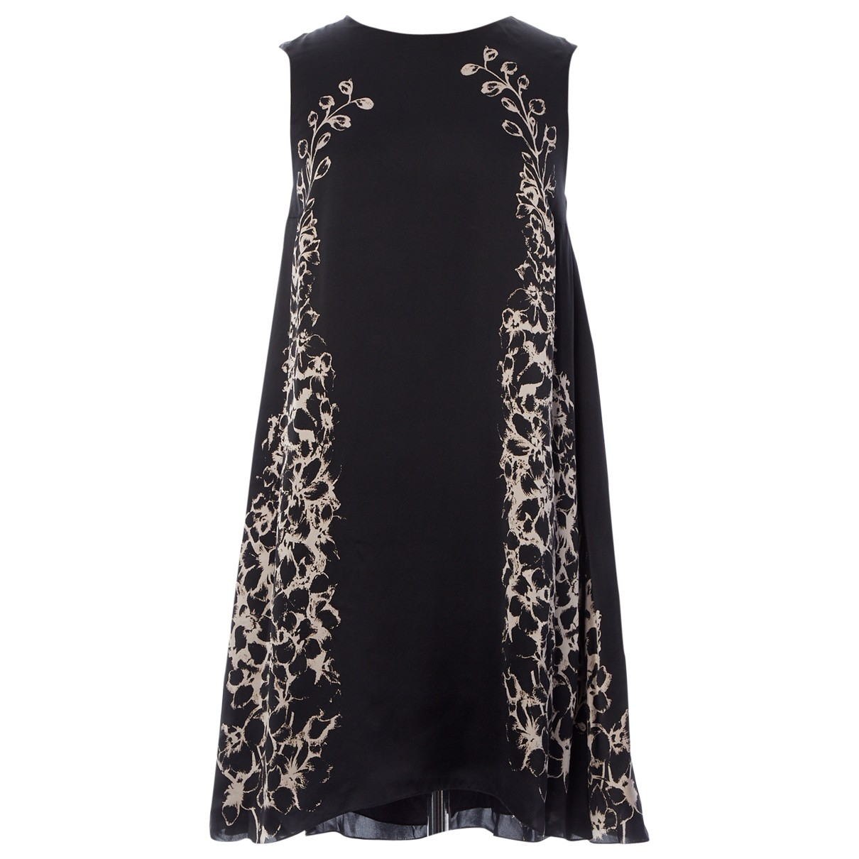 Mulberry \N Black Silk dress for Women 8 UK