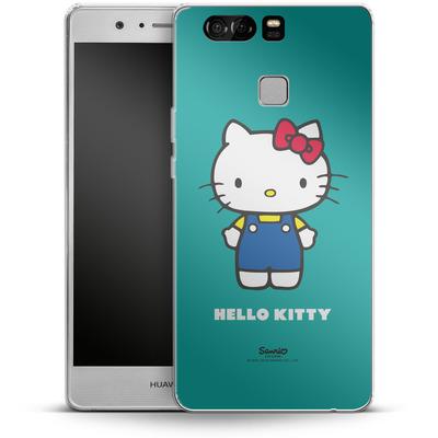 Huawei P9 Silikon Handyhuelle - Hello Kitty Front von Hello Kitty