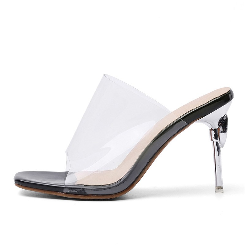 Ericdress Slip-On Stiletto Heel Flip Flop Casual Slippers