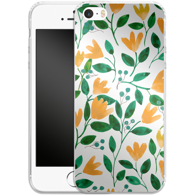 Apple iPhone SE Silikon Handyhuelle - Fresh Foliage von Iisa Monttinen