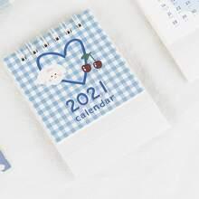 1 Pack zufaelliger Karikatur 2021 Tischkalender