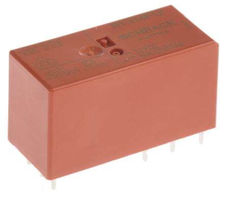 TE Connectivity SPDT PCB Mount Latching Relay - 16 A, 12V dc For Use In Power Applications