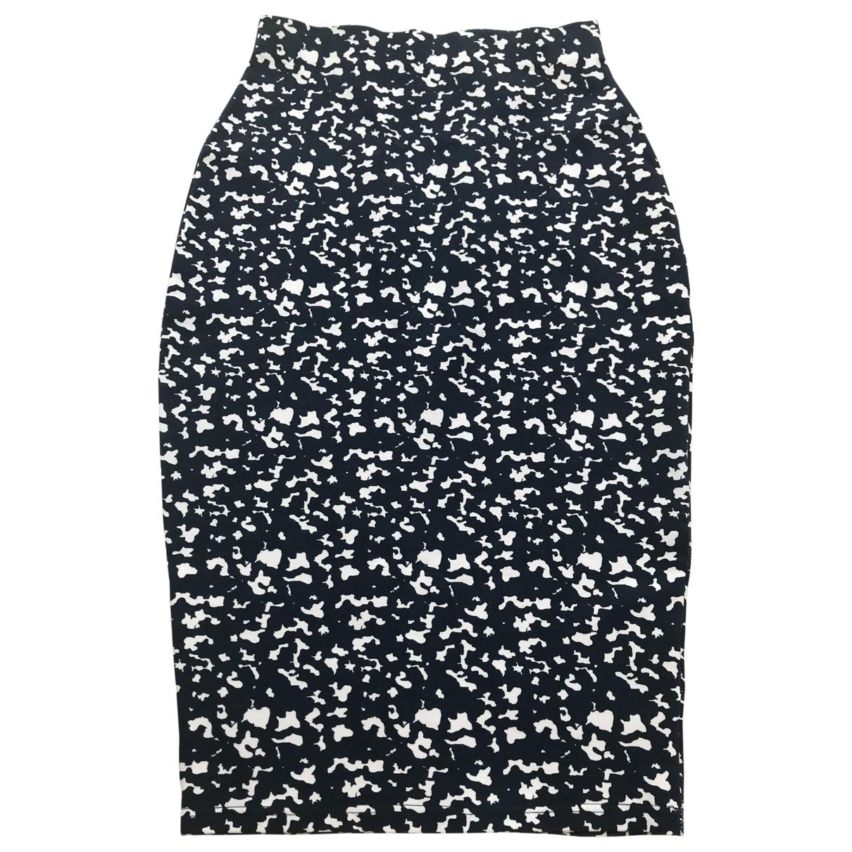 Non Signé / Unsigned \N Blue Cotton - elasthane skirt for Women S International