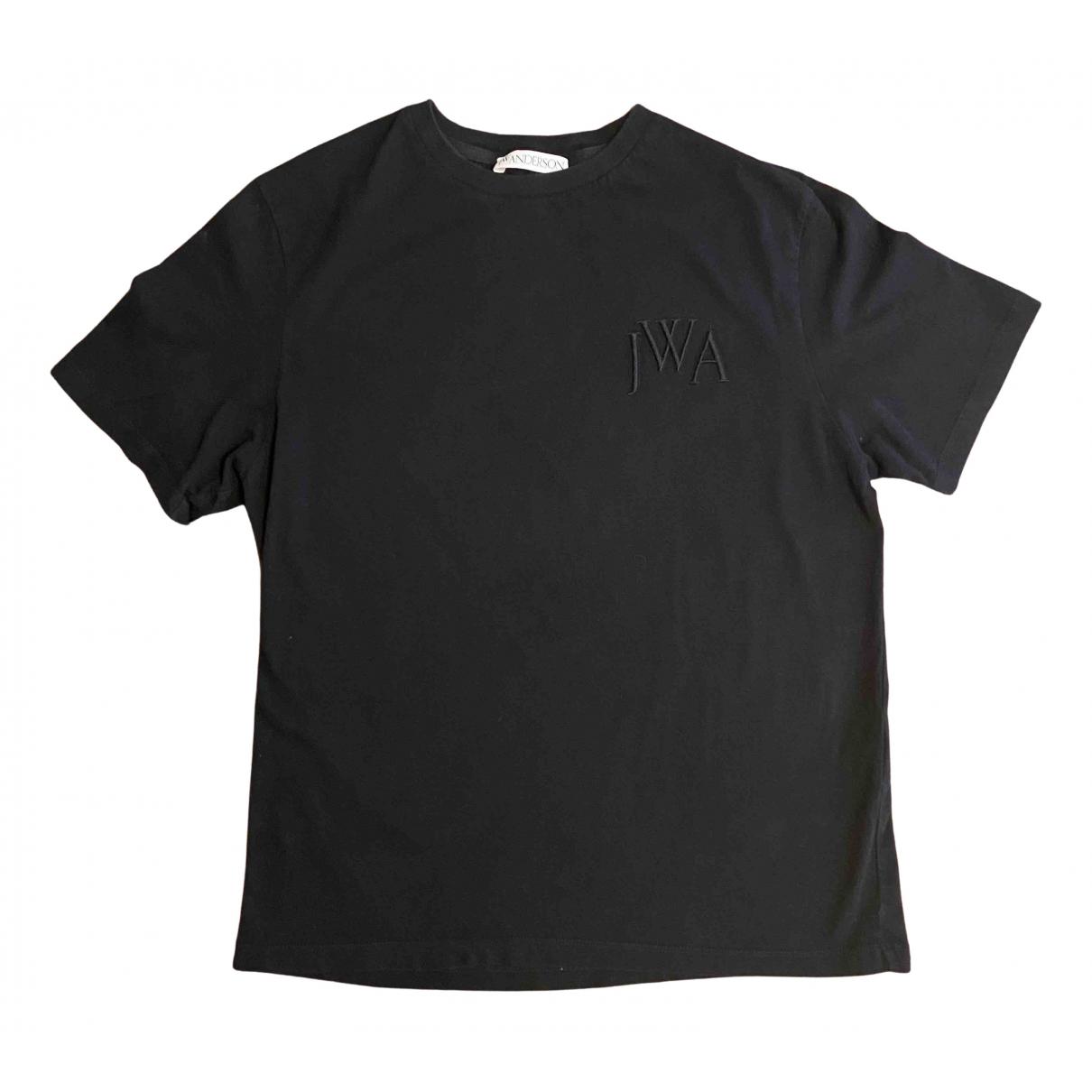 J.w. Anderson - Tee shirts   pour homme en coton - noir