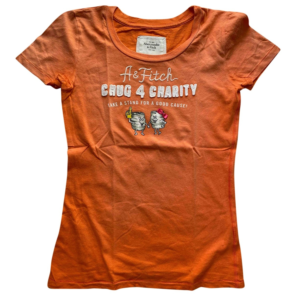 Abercrombie & Fitch \N Top in  Orange Baumwolle