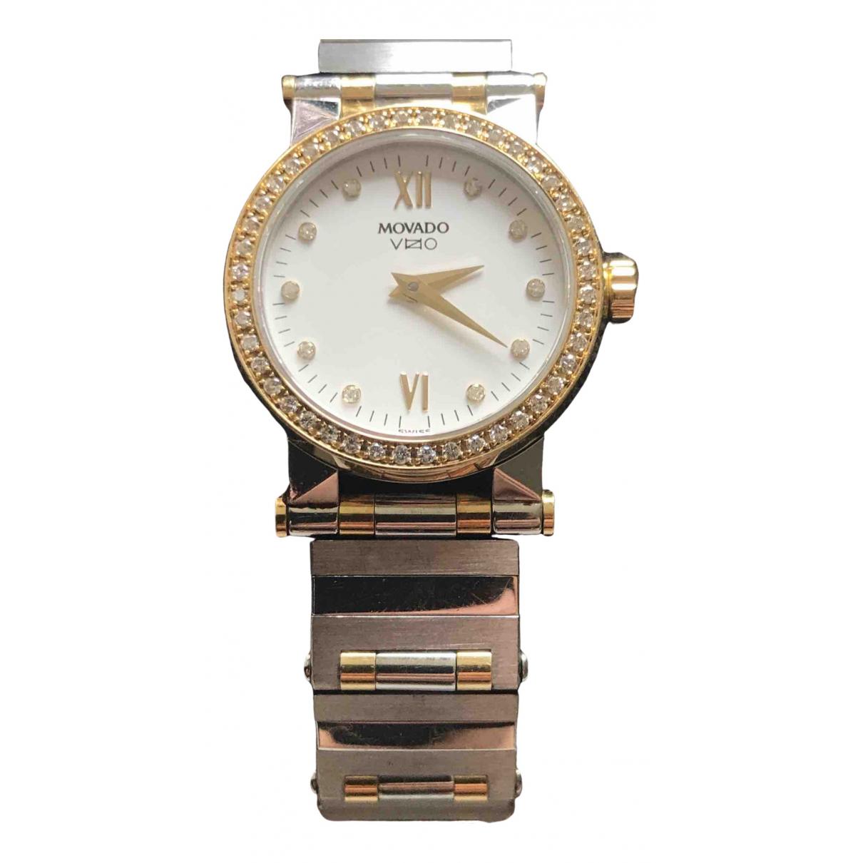 Movado \N Uhr in Gold und Stahl