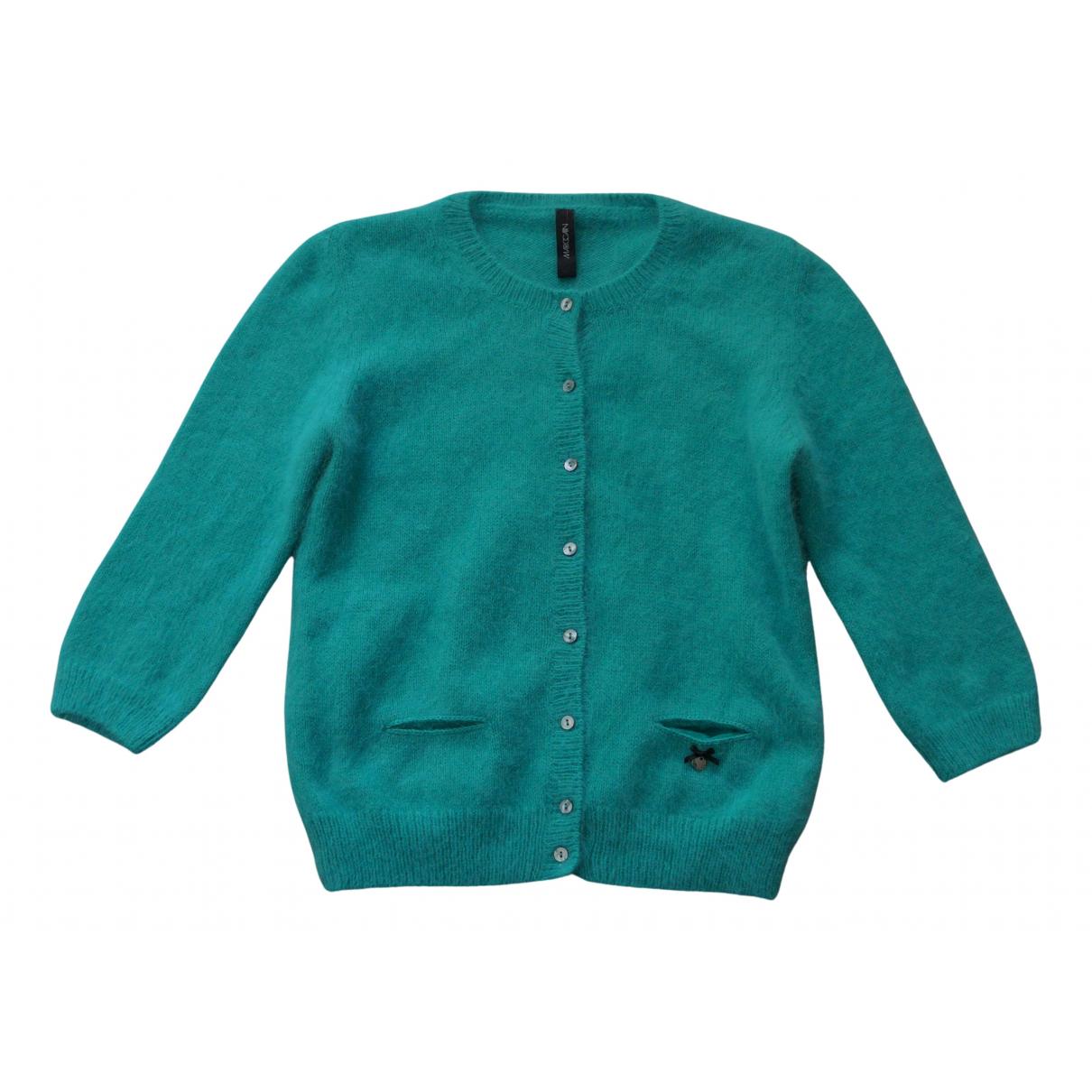 Marc Cain - Pull   pour femme en laine - vert