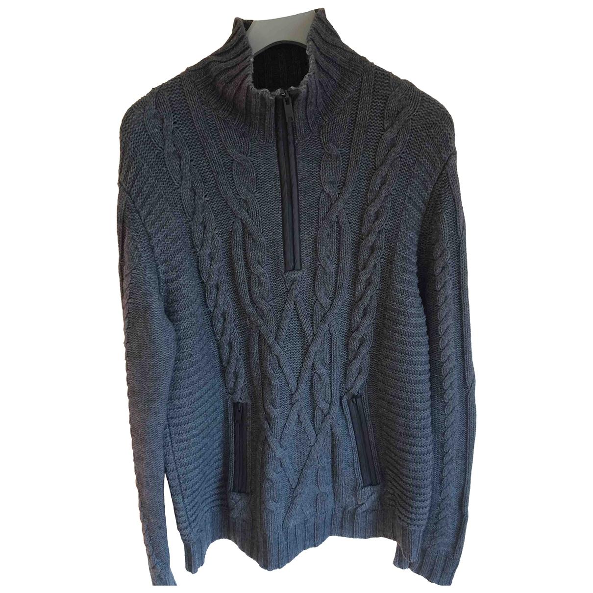 Dkny \N Pullover.Westen.Sweatshirts  in  Grau Wolle