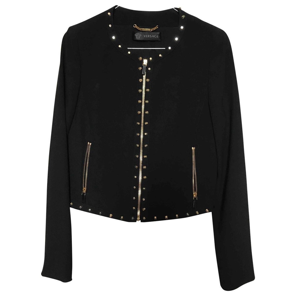 Versace - Veste   pour femme - noir
