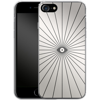 Apple iPhone 7 Silikon Handyhuelle - Big Brother von Florent Bodart