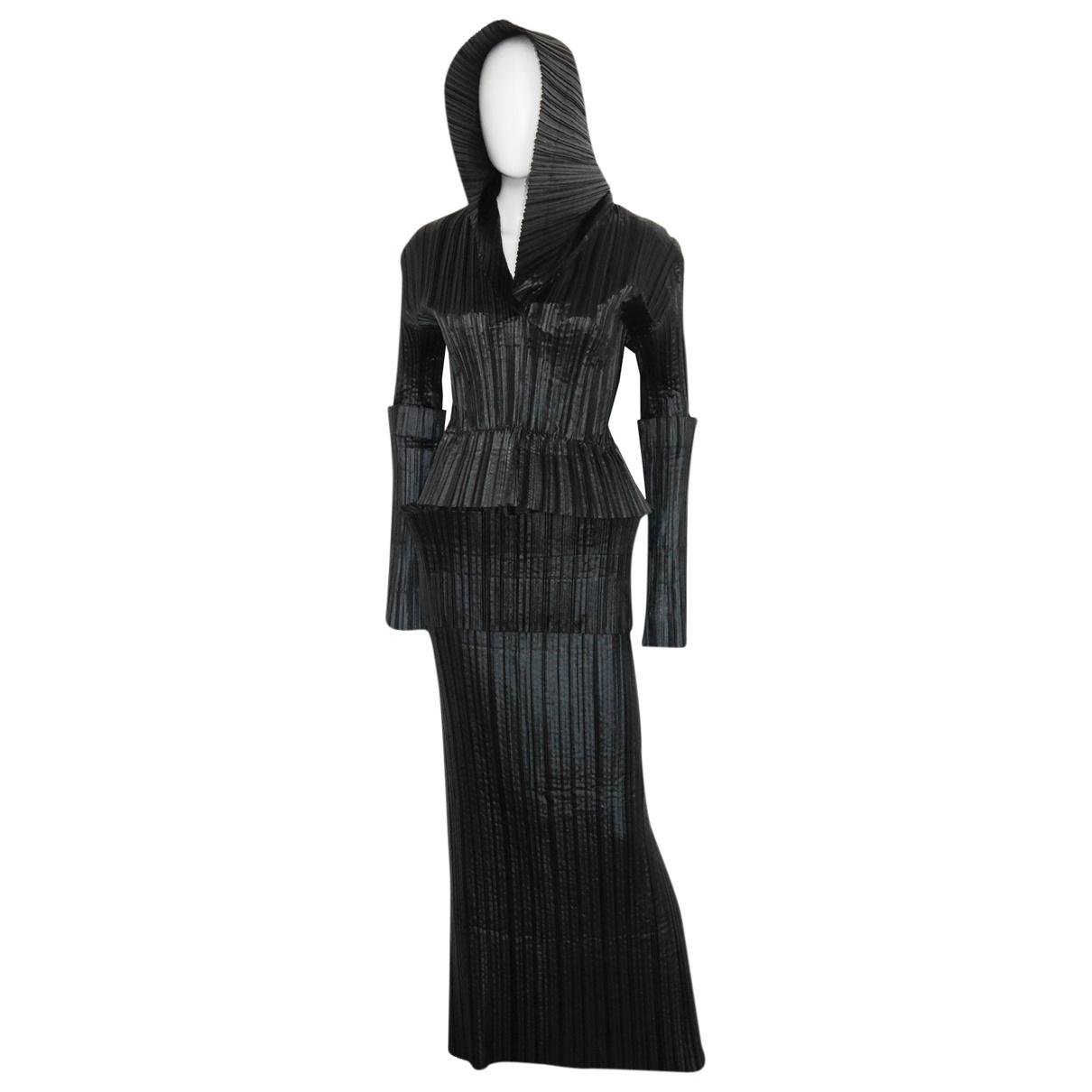 Issey Miyake \N Anthracite dress for Women M International