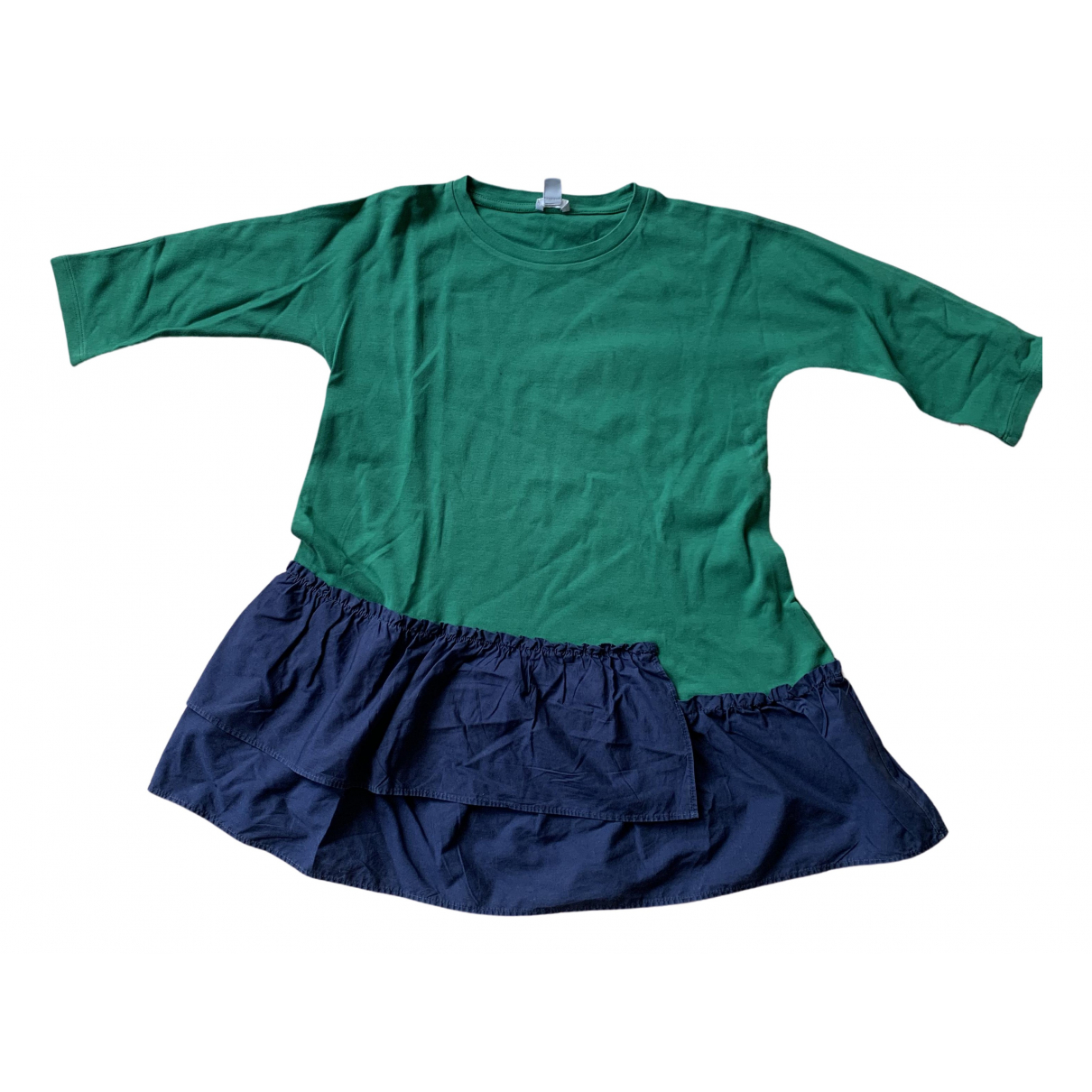Cos \N Green Cotton dress for Kids 6 years - up to 114cm FR